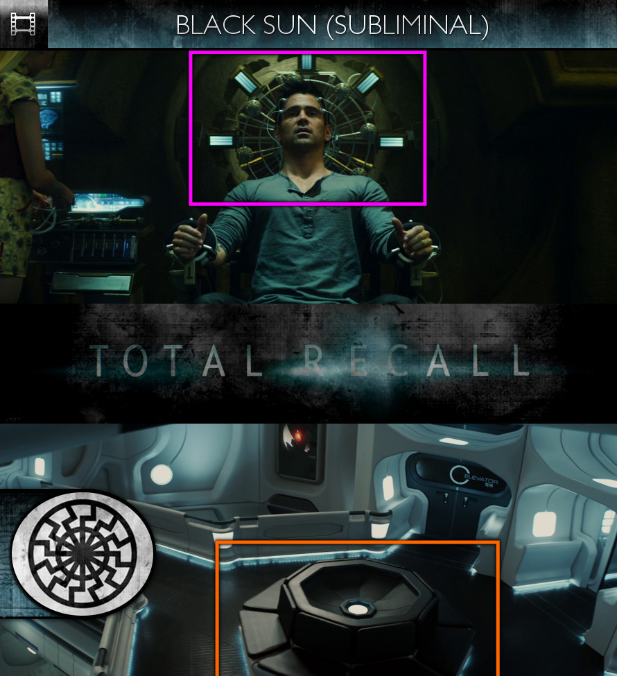 Total Recall (2012) - Black Sun - Subliminal