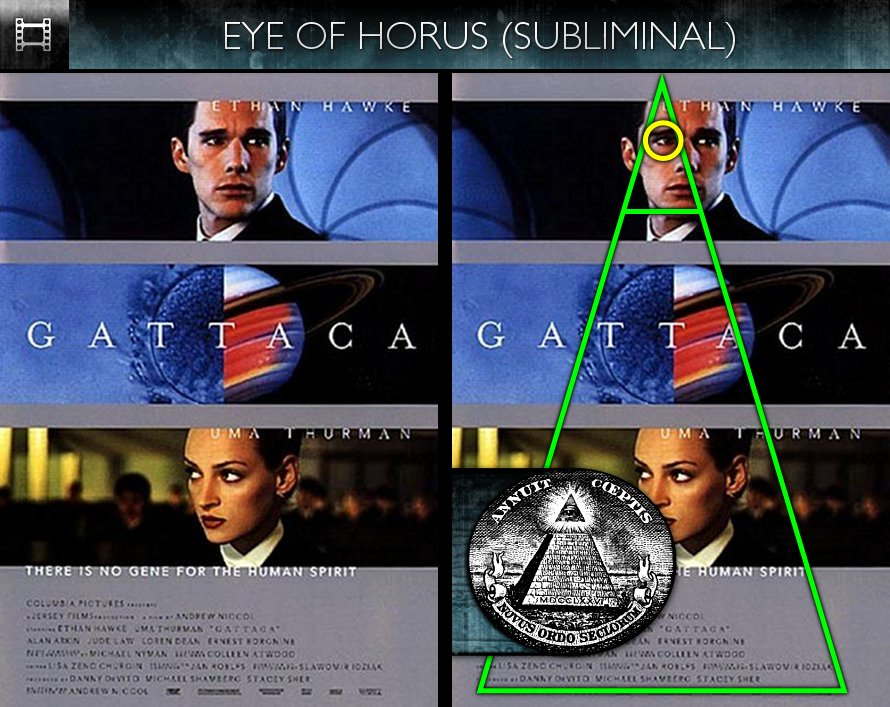 Gattaca (1997) - Poster - Eye of Horus - Subliminal