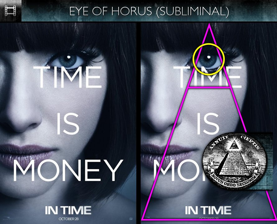 In Time (2011) - Poster - Eye of Horus - Subliminal