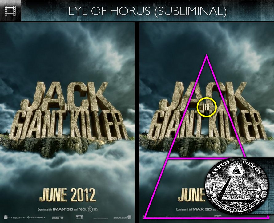 Jack The Giant Killer (2013) - Poster - Eye of Horus - Subliminal