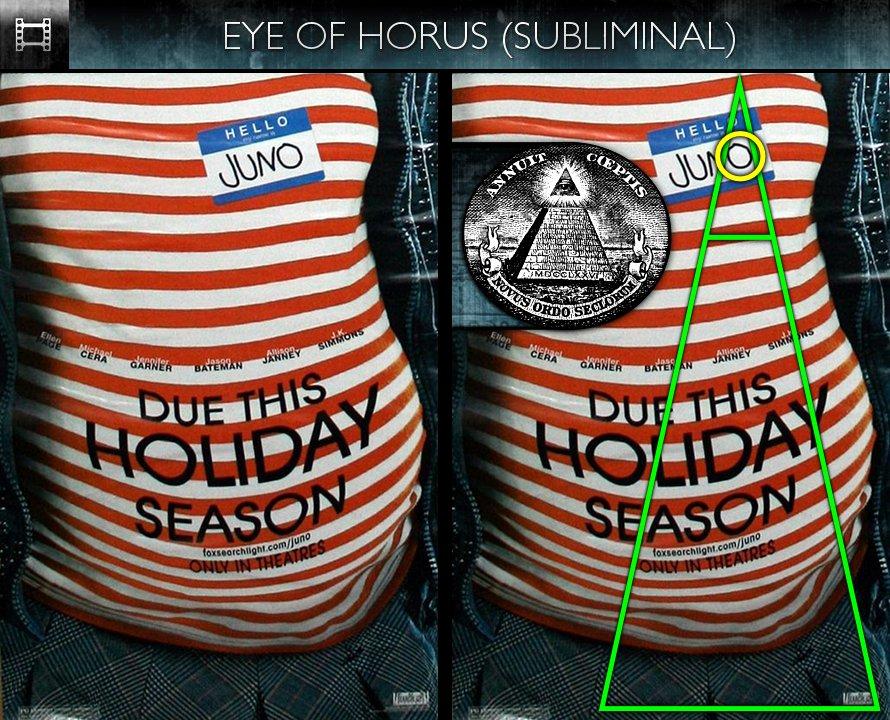 Juno (2007) - Poster - Eye of Horus - Subliminal