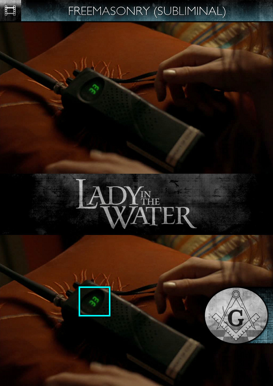 Lady in the Water (2006) - Freemasonry - Subliminal