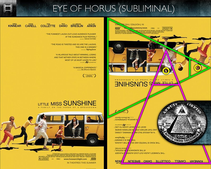 Little Miss Sunshine (2006) - Poster - Eye of Horus - Subliminal
