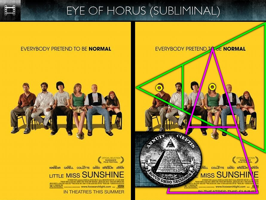 Little Miss Sunshine (2006) - Poster - Eye of Horus - Subliminal