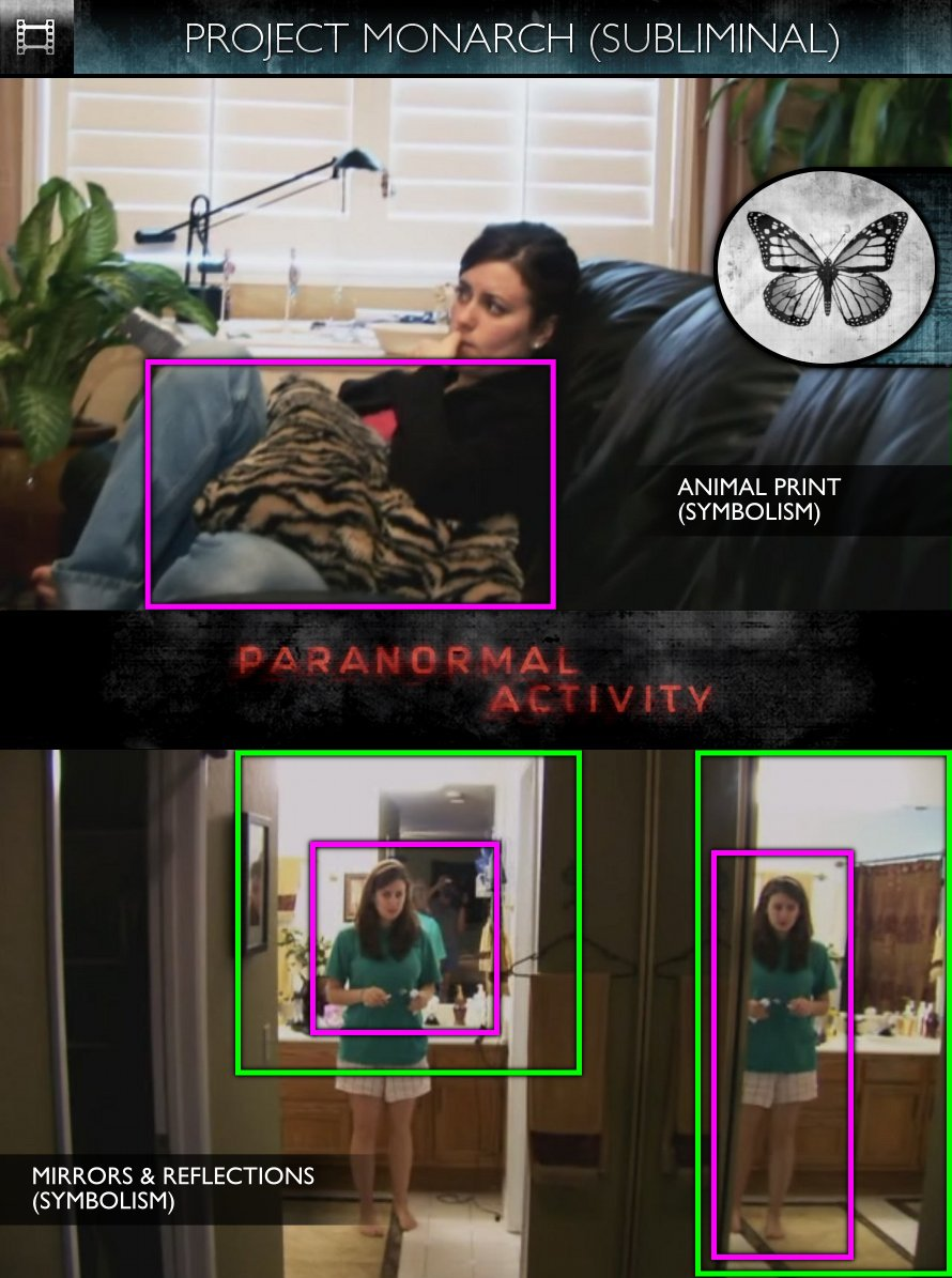 Paranormal Activity (2009) - Project Monarch - Subliminal