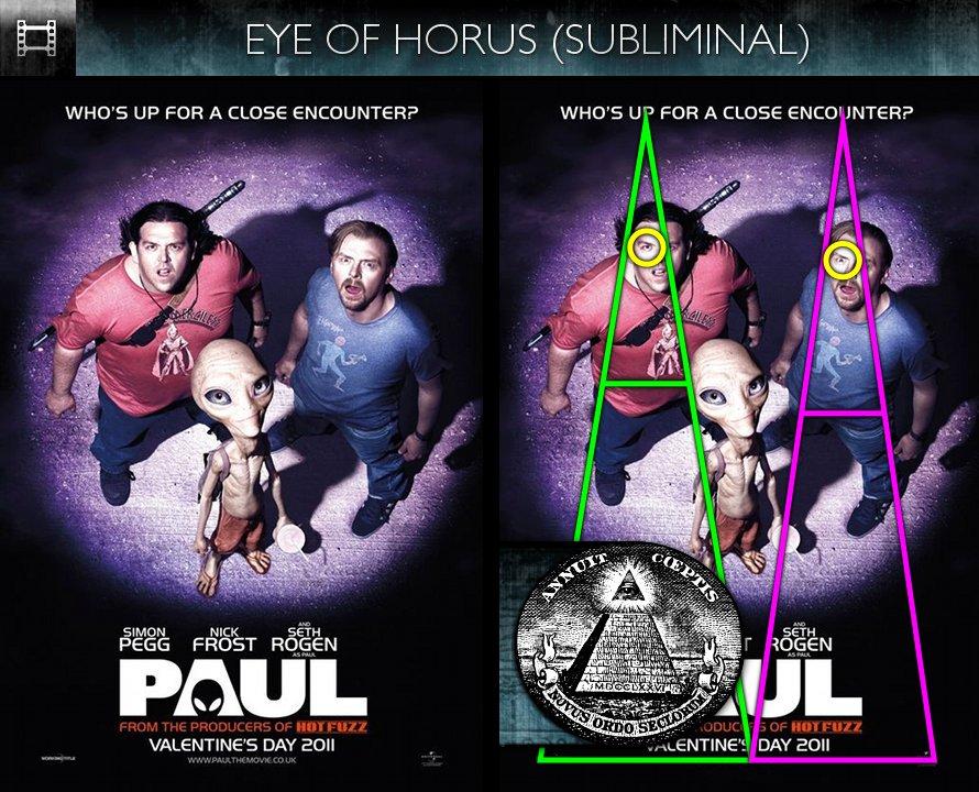 Paul (2011) - Poster - Eye of Horus - Subliminal