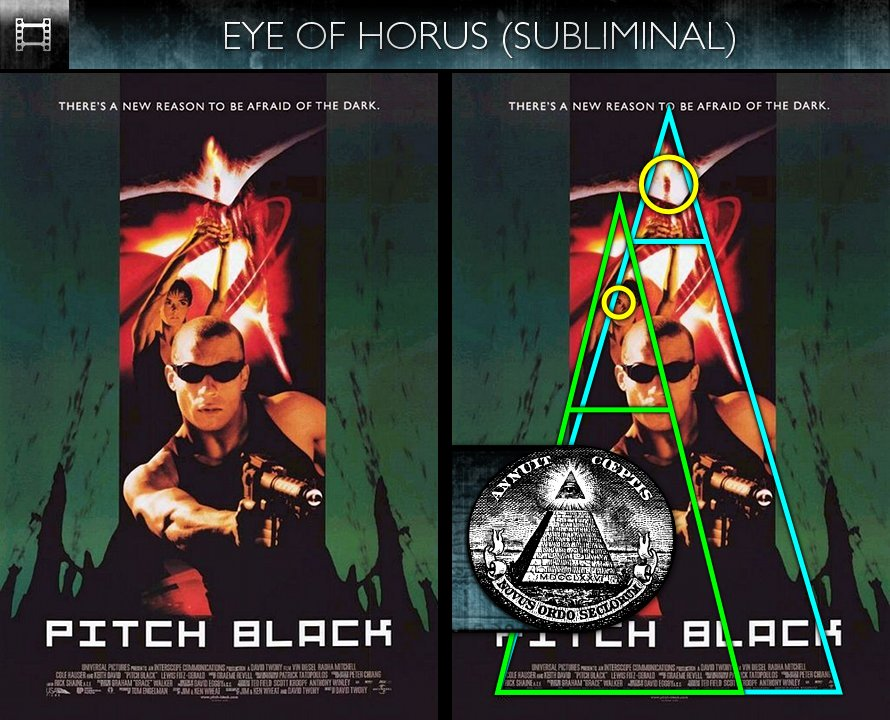 Pitch Black (2000) - Poster - Eye of Horus - Subliminal