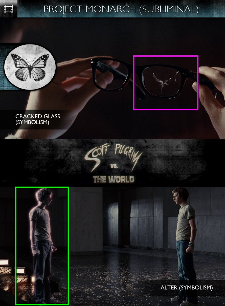 Scott Pilgrim vs. the World (2010) - Project Monarch - Subliminal