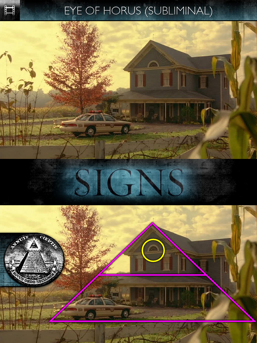 Signs (2002) - Eye of Horus - Subliminal