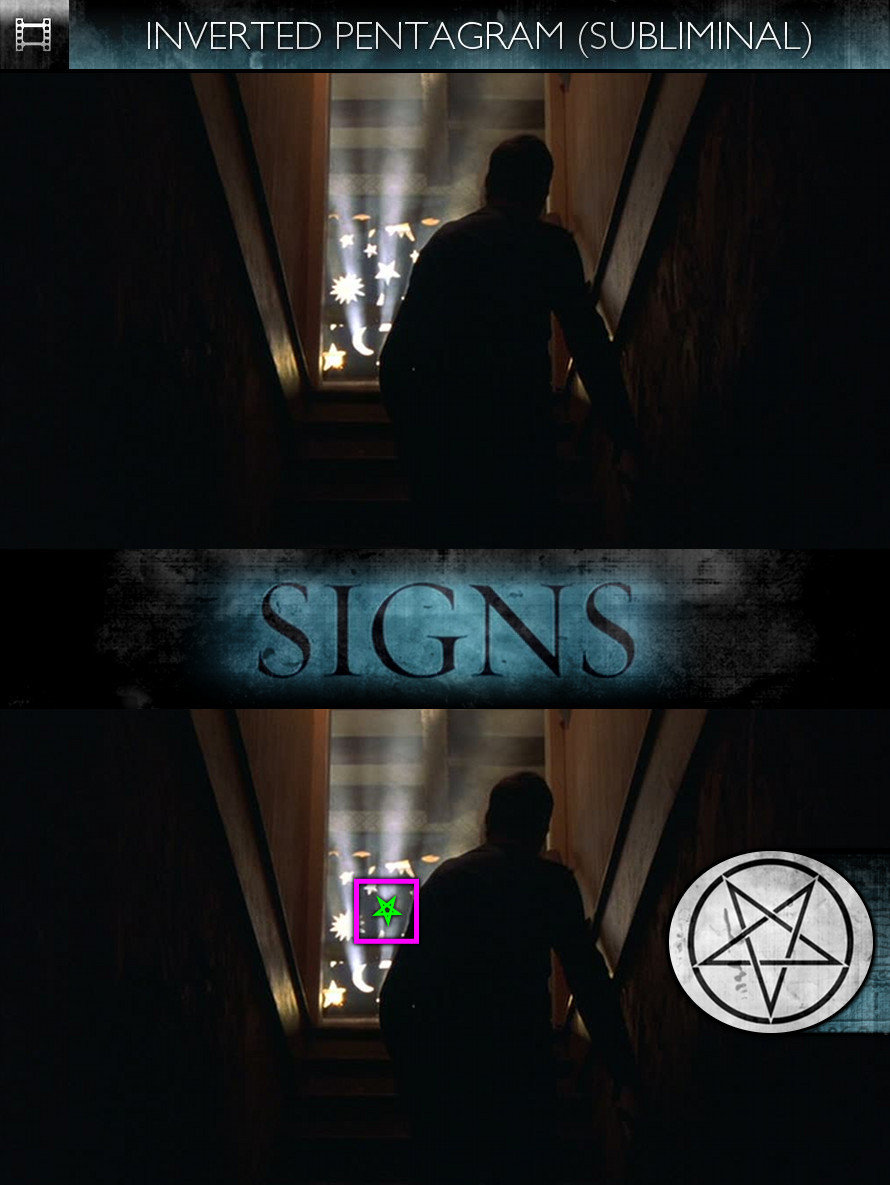 Signs (2002) - Inverted Pentagram - Subliminal