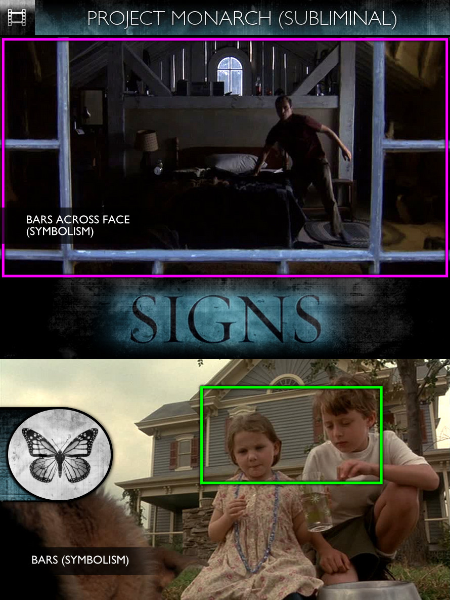 Signs (2002) - Project Monarch - Subliminal