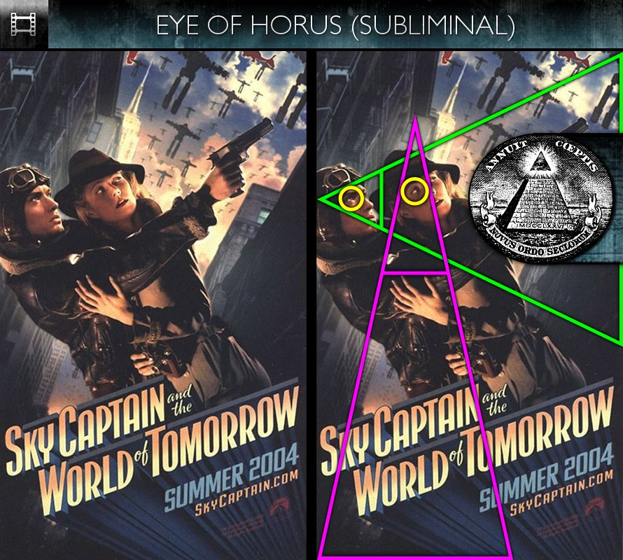 Sky Captain and the World of Tomorrow (2004) - Poster - Eye of Horus - Subliminal