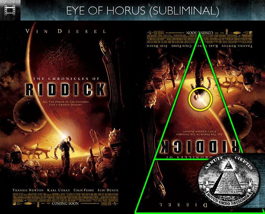 The Chronicles of Riddick (2004) - Poster - Eye of Horus - Subliminal