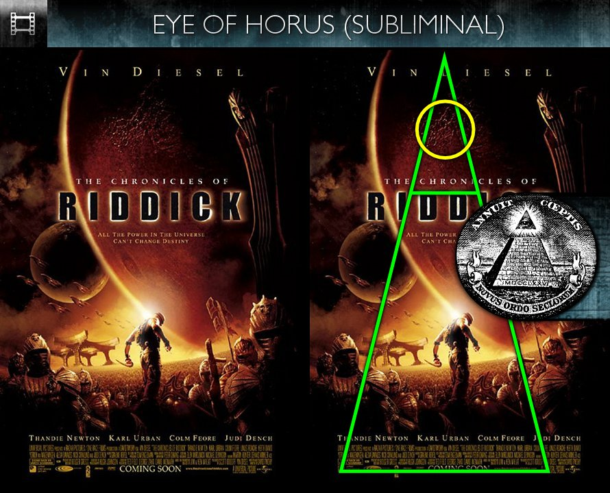 The Chronicles of Riddick (2004) - Poster - Eye of Horus - Subliminal