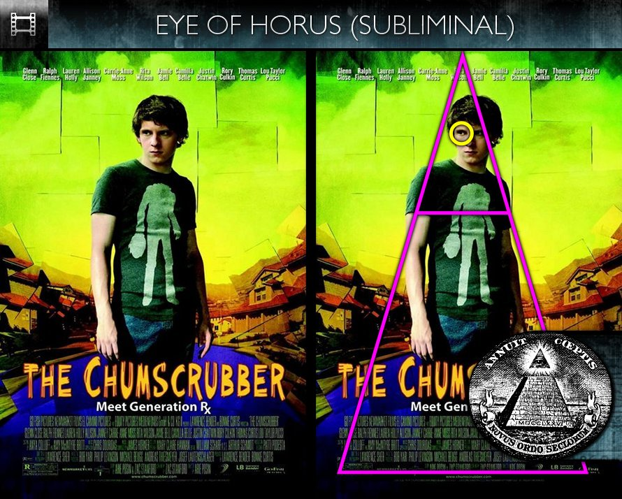The Chumscrubber (2005) - Poster - Eye of Horus - Subliminal