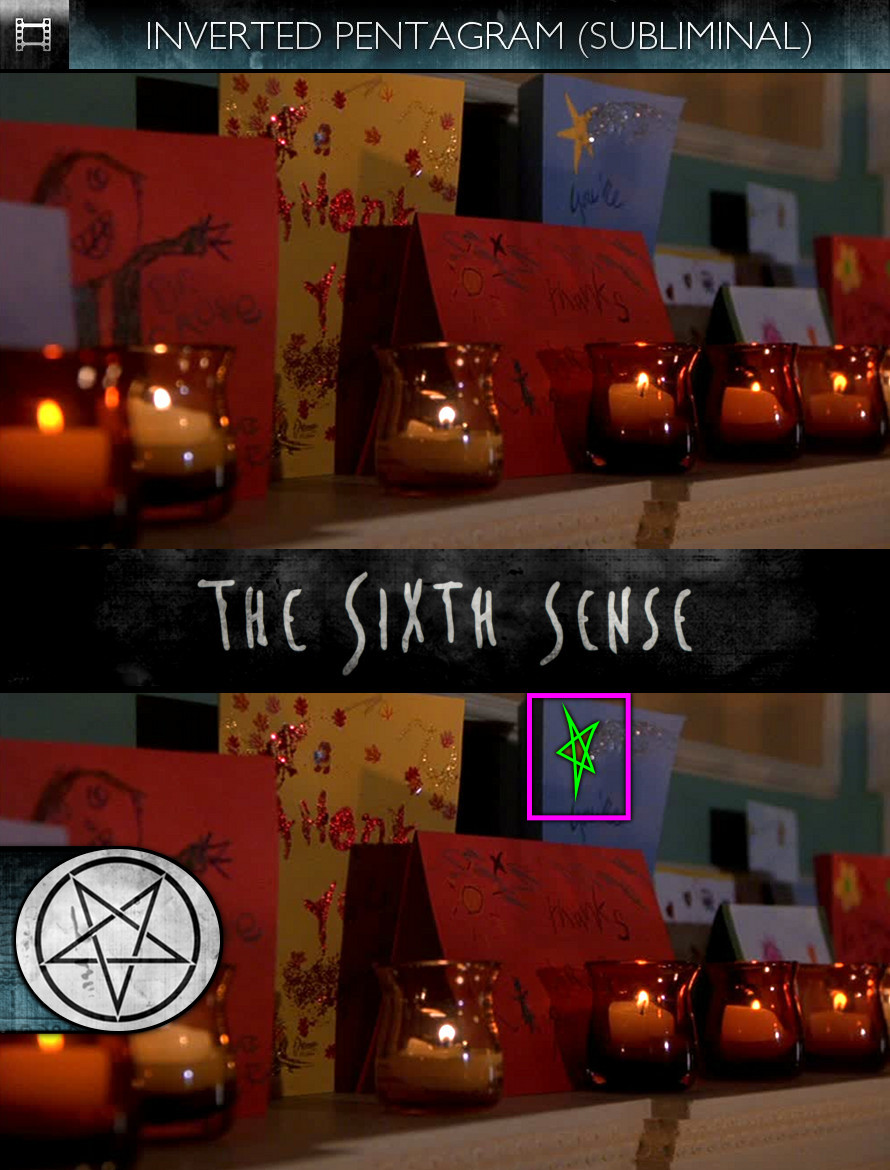 The Sixth Sense (1999) - Inverted Pentagram - Subliminal