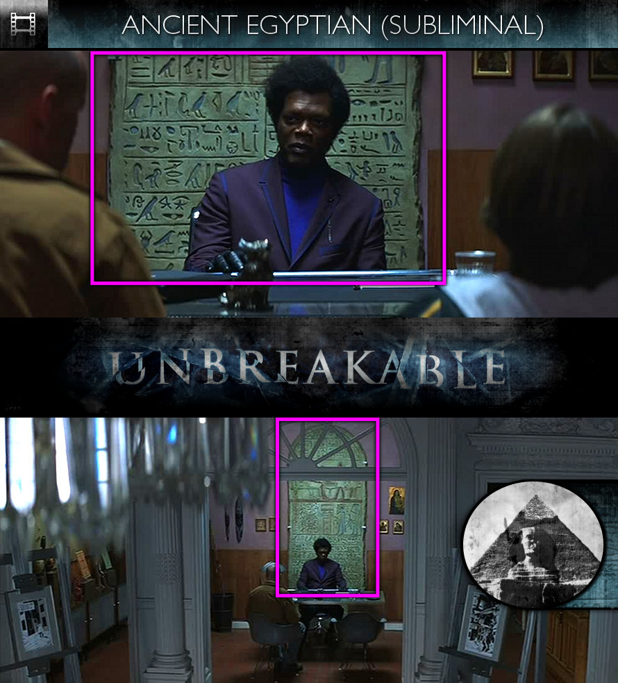 Unbreakable (2000) - Ancient Egyptian - Subliminal