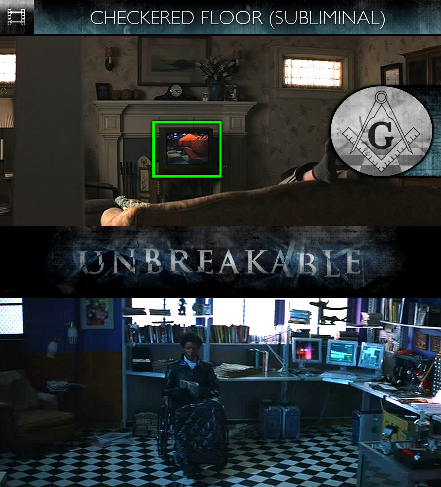 Unbreakable (2000) - Checkered Floor - Subliminal