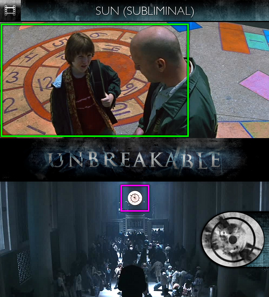 Unbreakable (2000) - Sun/Solar - Subliminal