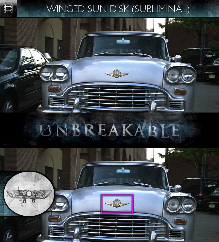 Unbreakable (2000) - Winged Sun-Disk - Subliminal