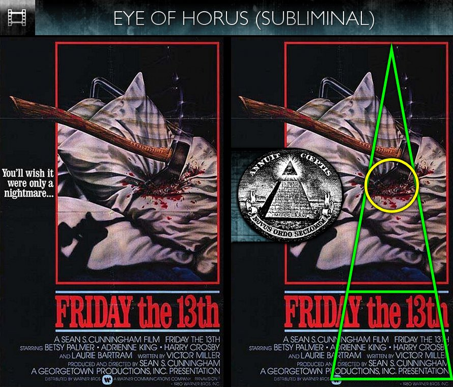 Friday the 13th (1980) – Poster – Eye of Horus ...