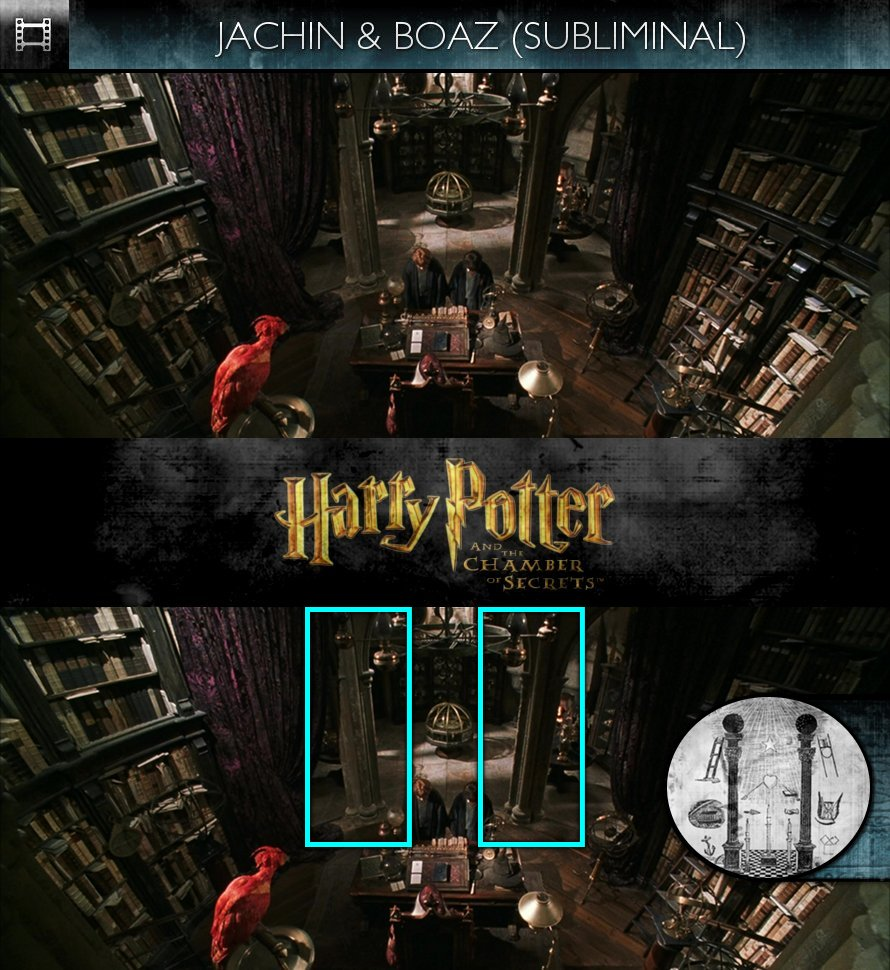 Harry Potter and the Chamber of Secrets (2002) - Jachin & Boaz - Subliminal