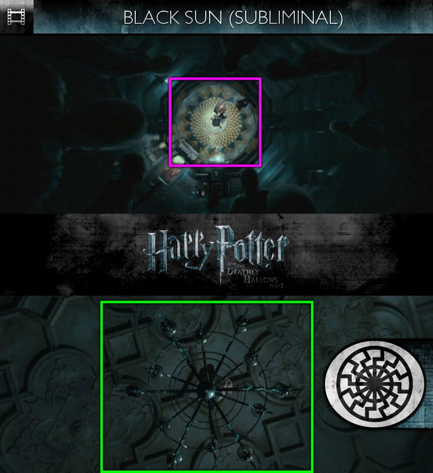 Harry Potter and the Deathly Hallows, Part 1 (2010) - Black Sun - Subliminal