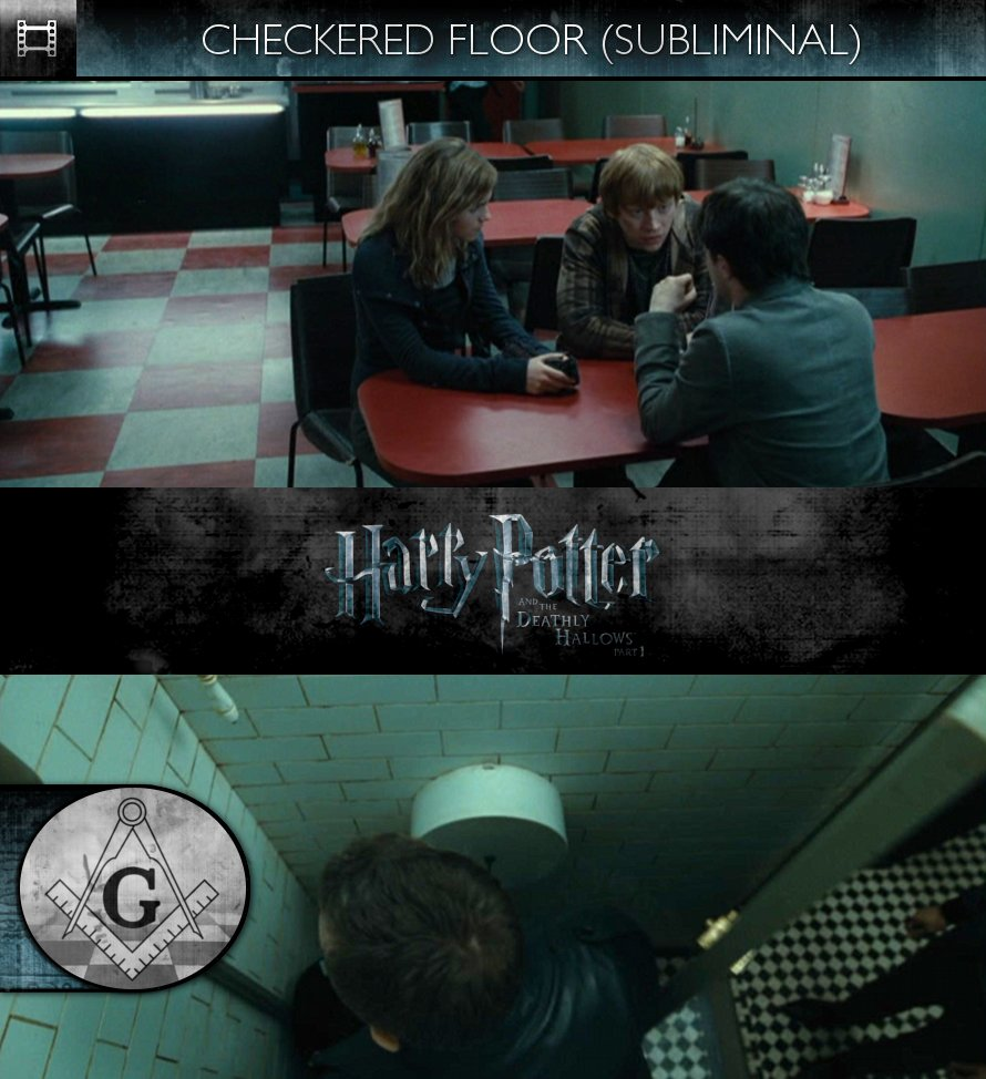 Harry Potter and the Deathly Hallows, Part 1 (2010) - Checkered Floor - Subliminal