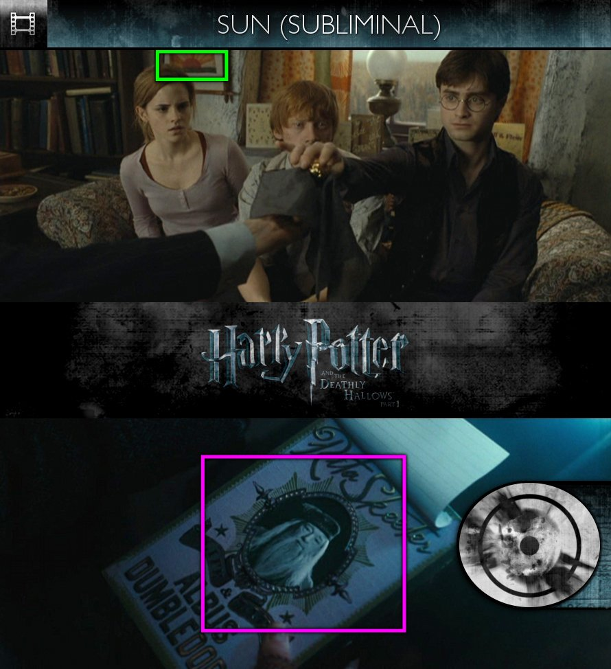 Harry Potter and the Deathly Hallows, Part 1 (2010) - Sun/Solar - Subliminal
