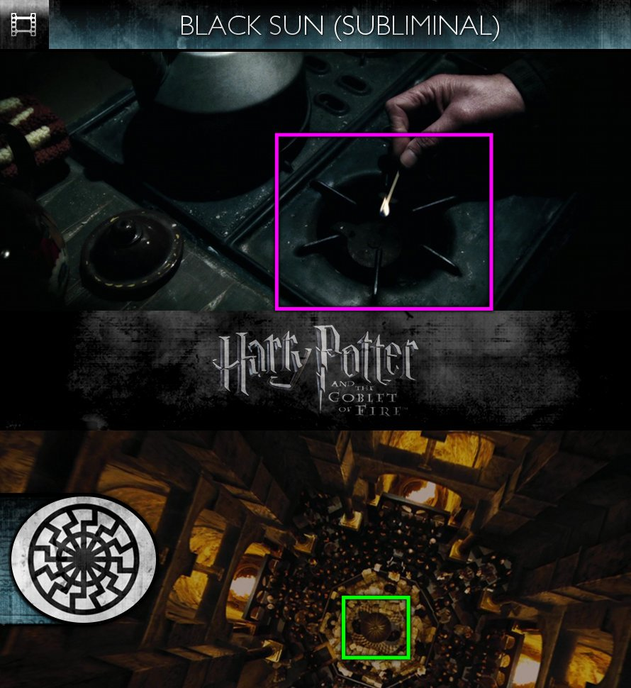Harry Potter and the Goblet of Fire (2005) - Black Sun - Subliminal