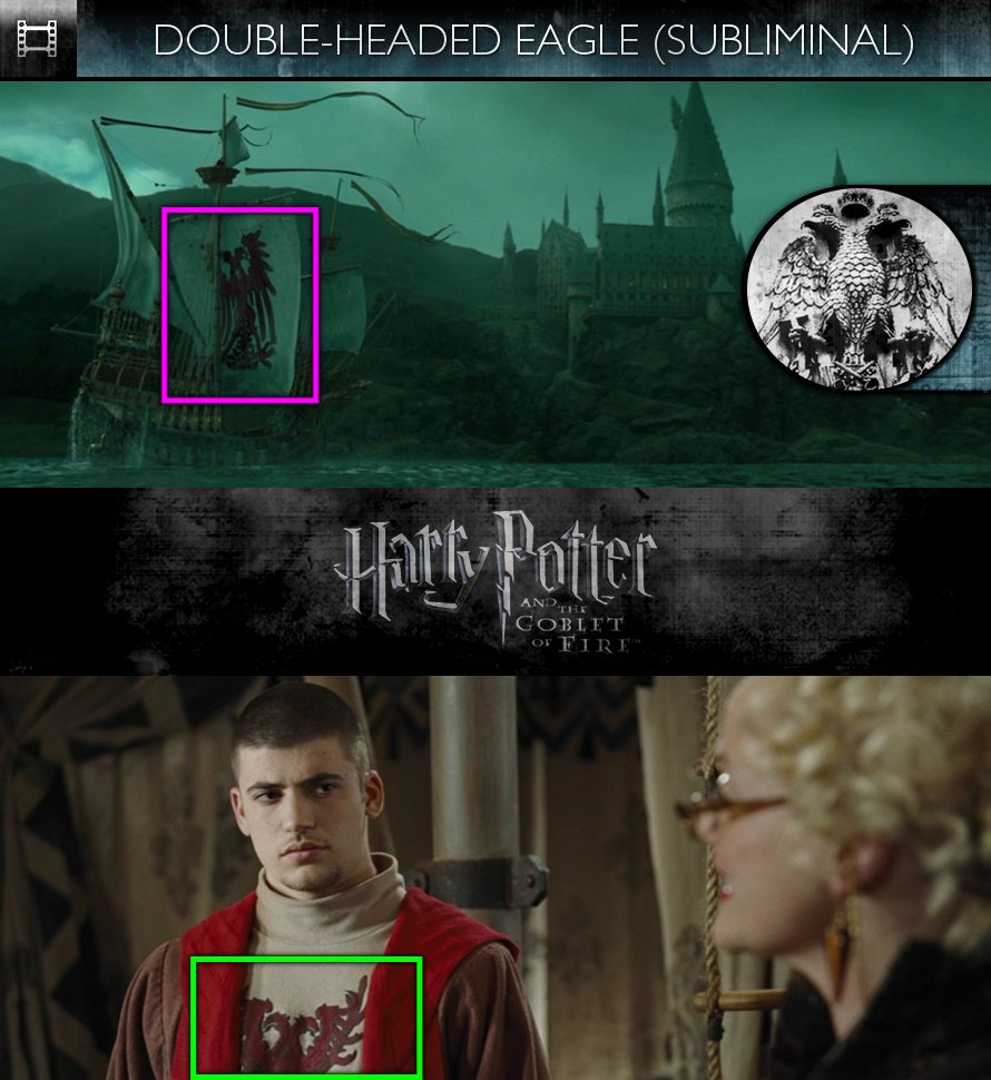 Harry Potter and the Goblet of Fire (2005) - Double-Headed Eagle - Subliminal