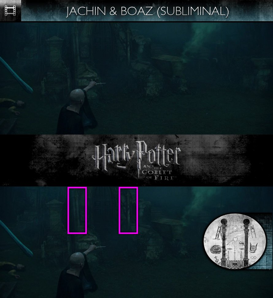 Harry Potter and the Goblet of Fire (2005) - Jachin & Boaz - Subliminal