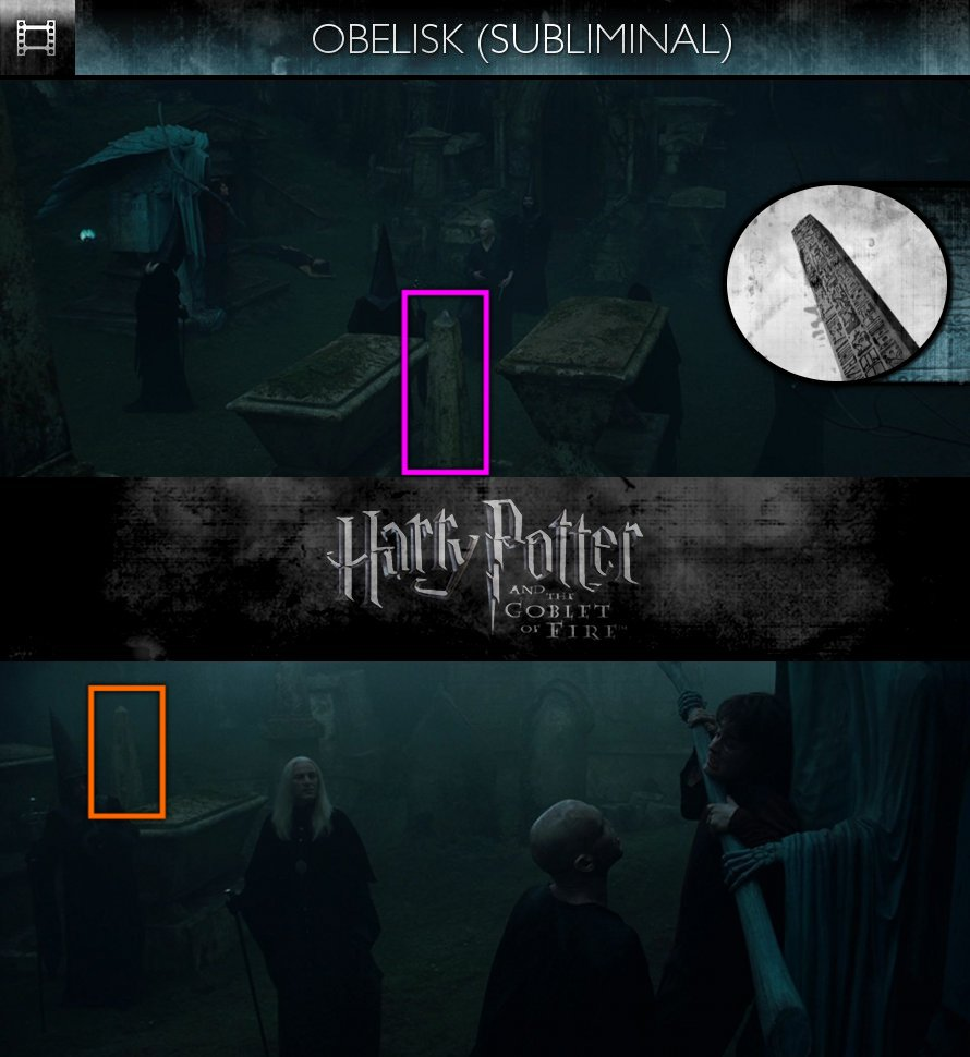 Harry Potter and the Goblet of Fire (2005) - Obelisk - Subliminal