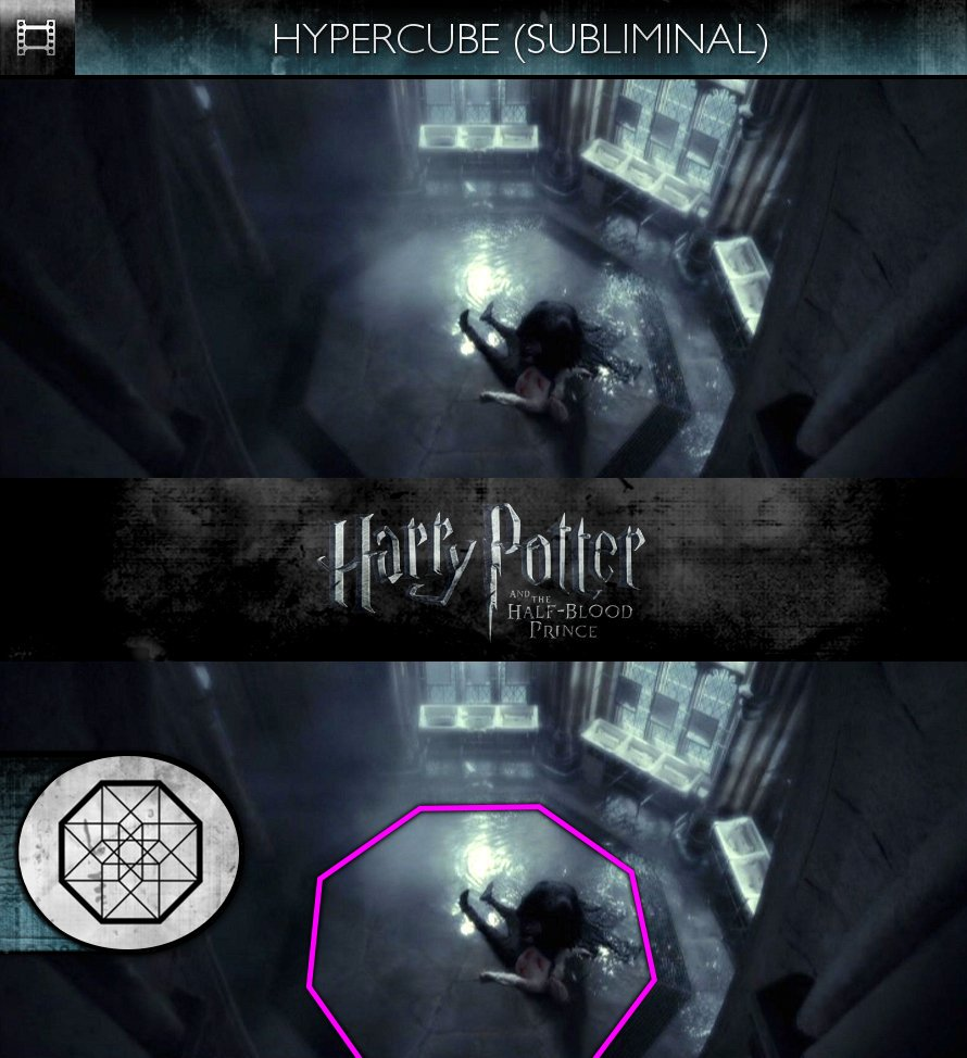 Harry Potter and the Half-Blood Prince (2009) - Hypercube - Subliminal