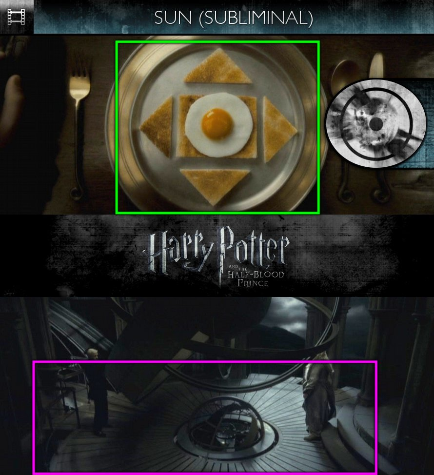 Harry Potter and the Half-Blood Prince (2009) - Sun/Solar - Subliminal