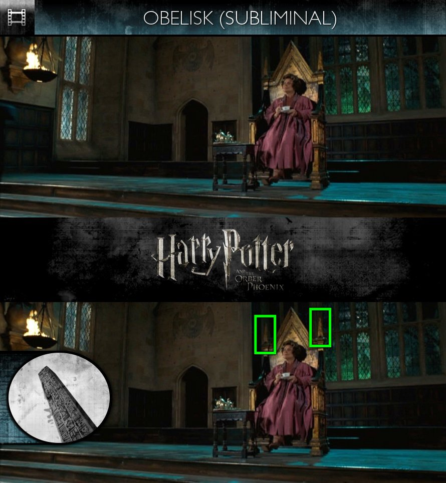 Harry Potter and the Order of the Phoenix (2007) - Obelisk - Subliminal