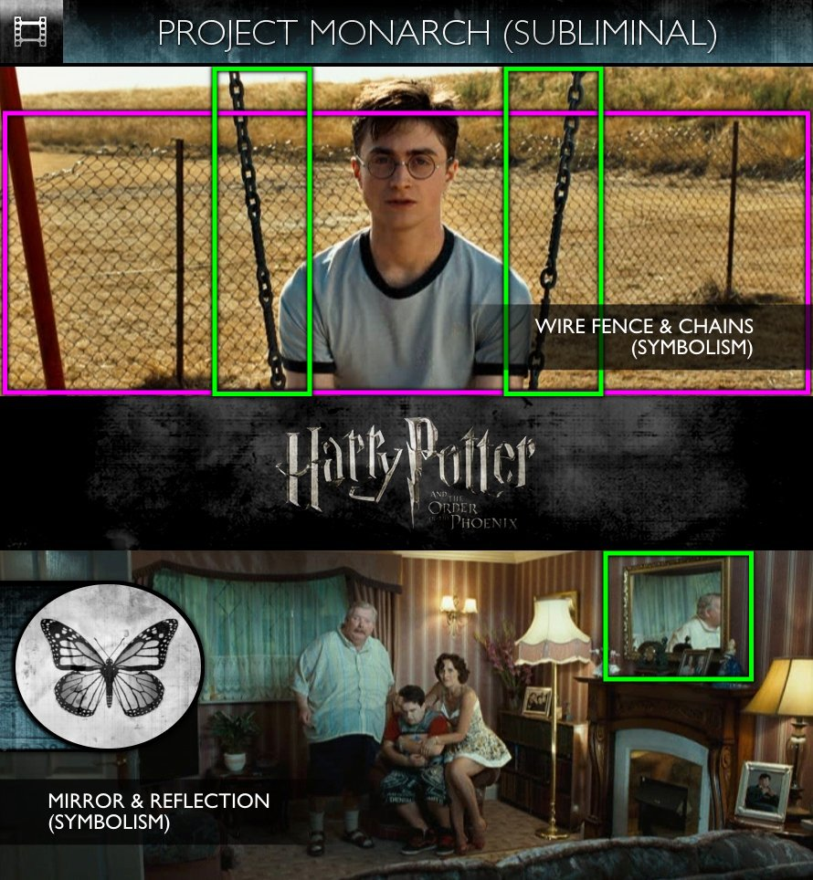 Harry Potter and the Order of the Phoenix (2007) - Project Monarch - Subliminal