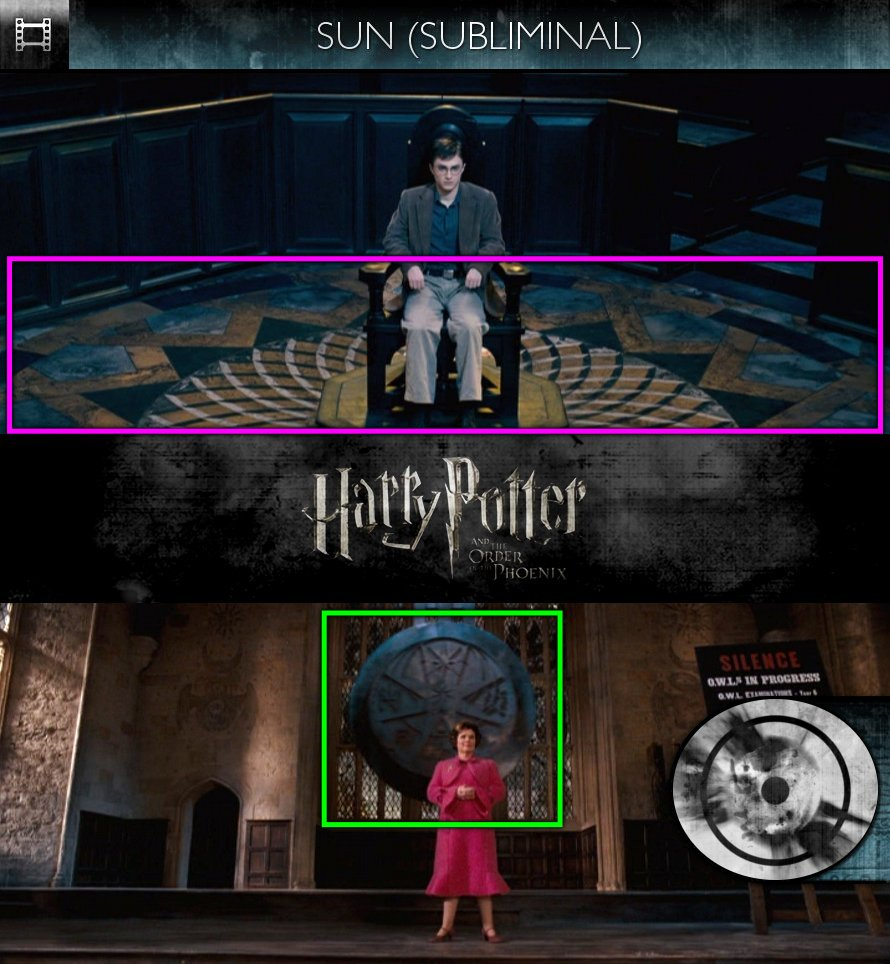 Harry Potter and the Order of the Phoenix (2007) - Sun/Solar - Subliminal