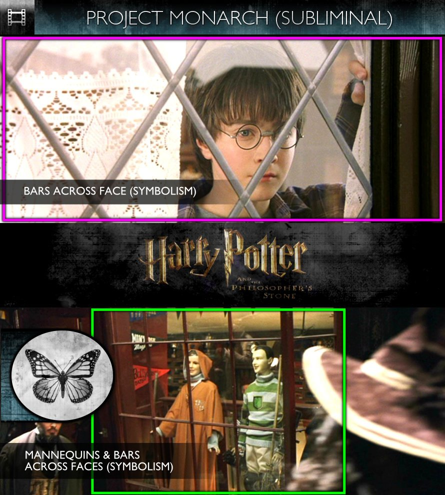 Harry Potter and the Philosopher's Stone (2001) - Project Monarch - Subliminal