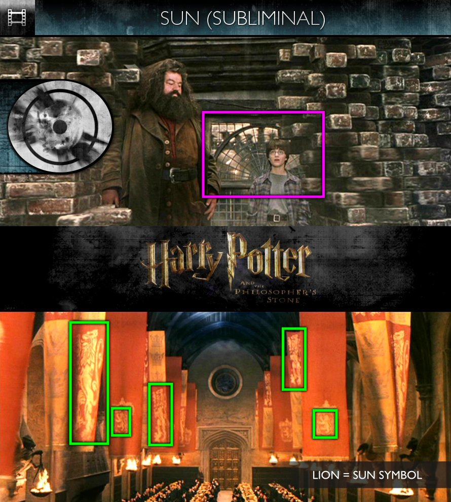 Harry Potter and the Philosopher's Stone (2001) - Sun/Solar - Subliminal