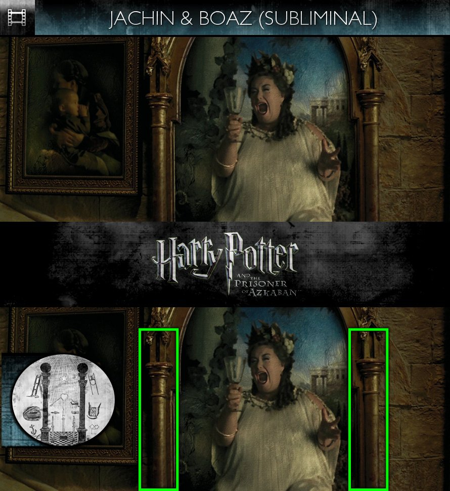 Harry Potter and the Prisoner of Azkaban (2004) - Jachin & Boaz - Subliminal