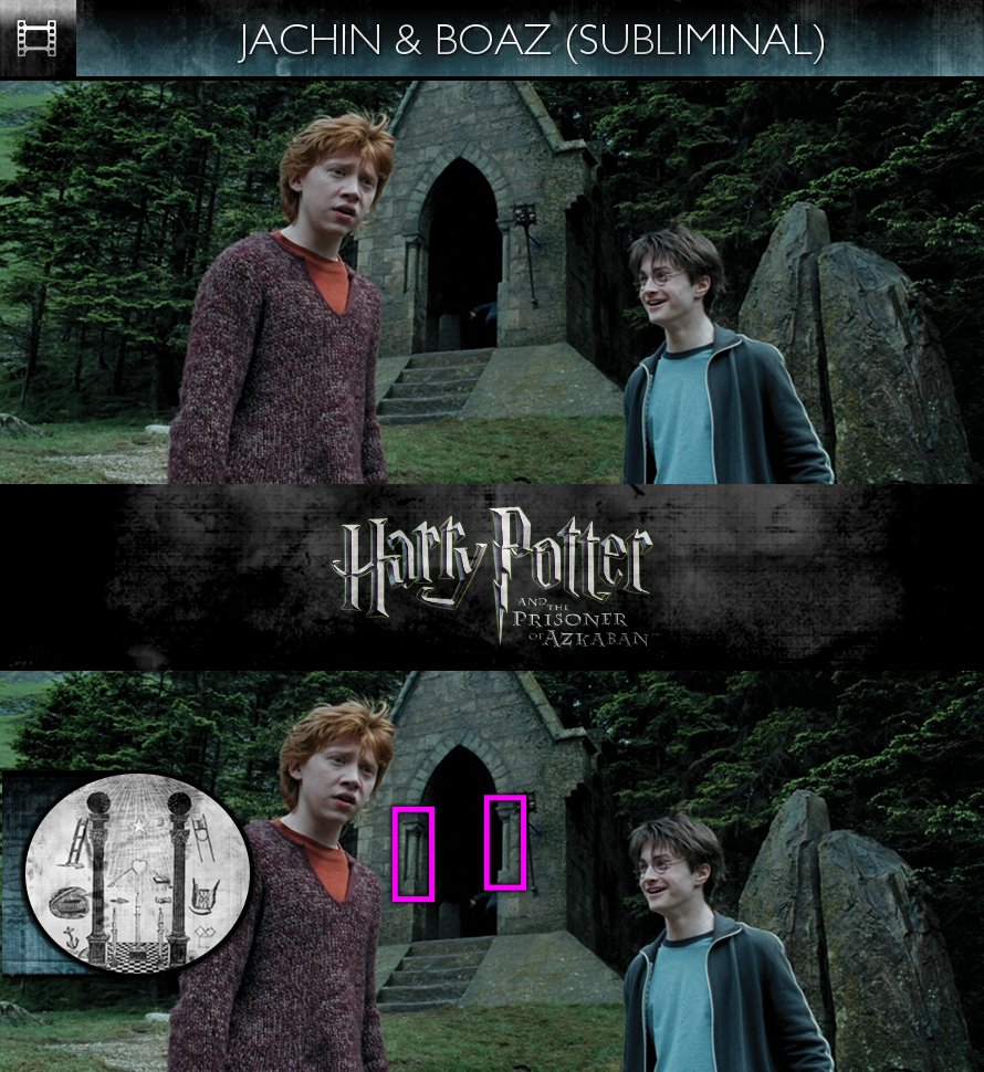 Harry Potter and the Prisoner of Azkaban (2004) - Jachin & Boaz - Subliminal