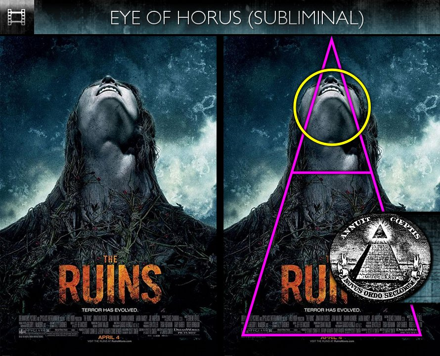 The Ruins - Poster - Eye of Horus - Subliminal
