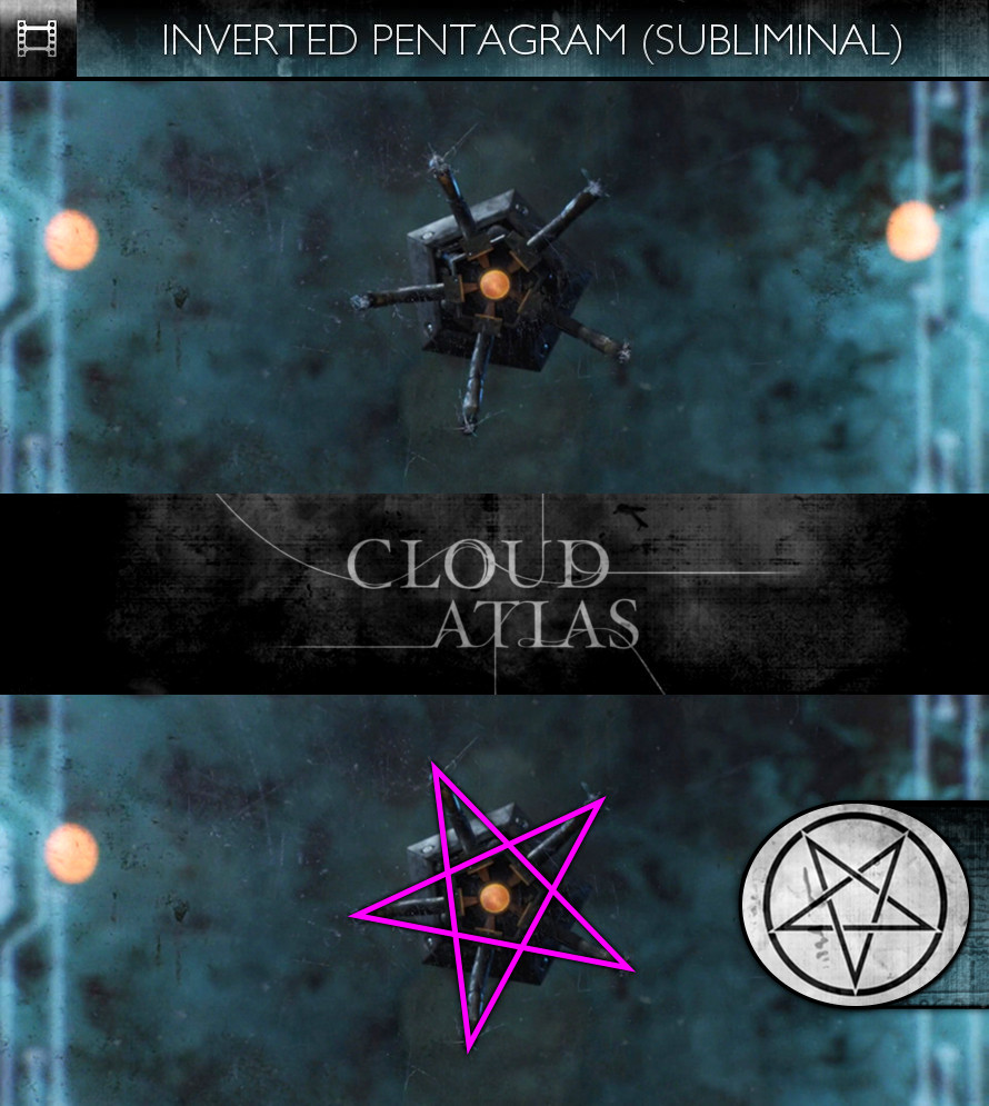 Cloud Atlas (2012) - Inverted Pentagram - Subliminal