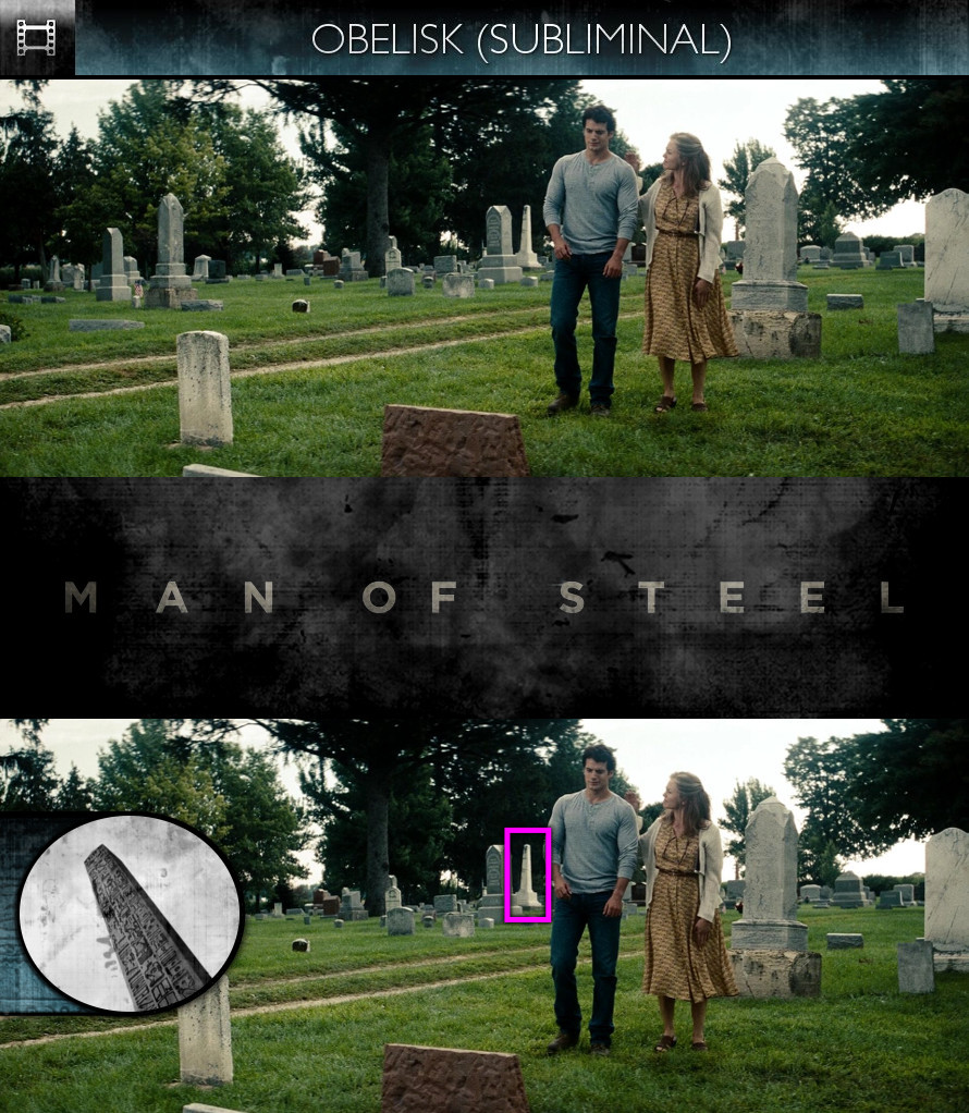 Man of Steel (2013) - Obelisk - Subliminal