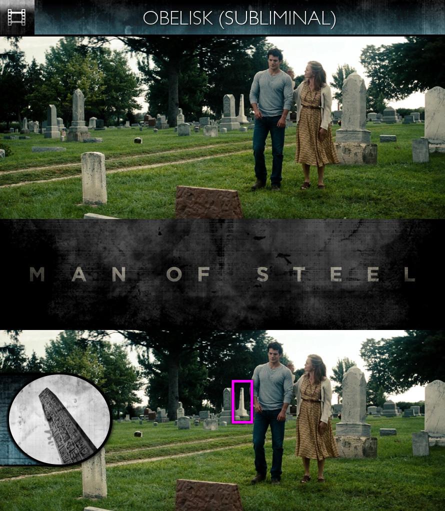 Man of Steel (2013) - Obelisk - Subliminal