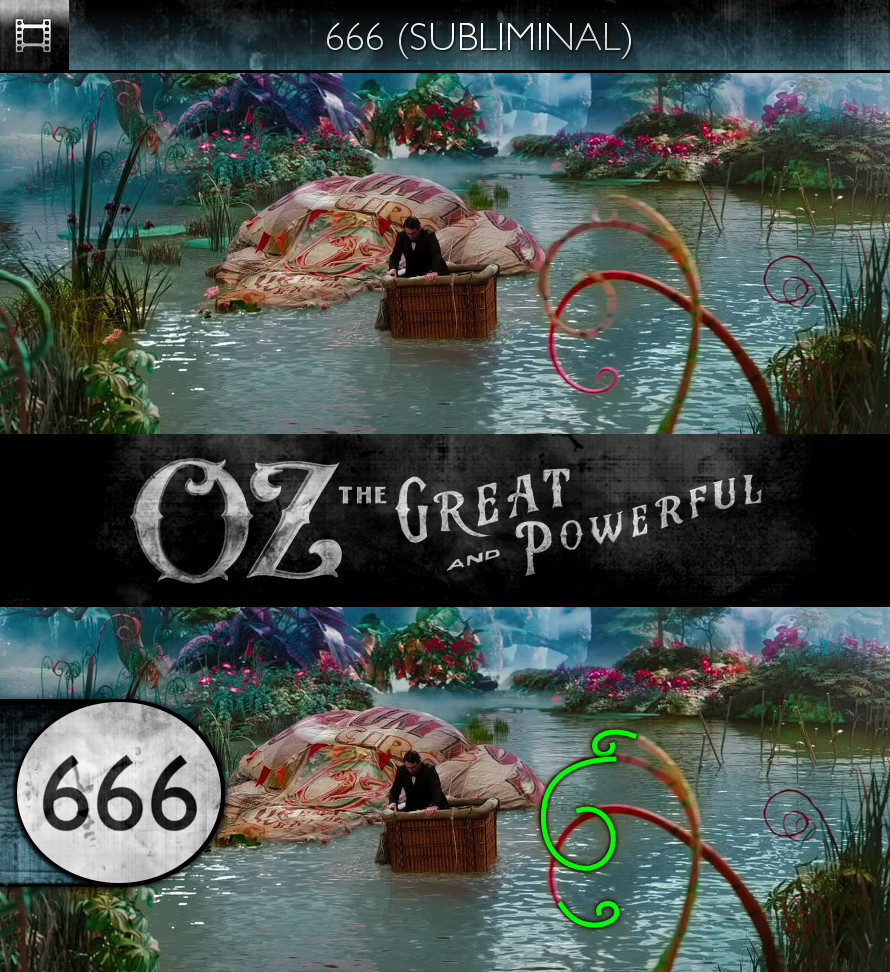 Oz: The Great and Powerful (2013) - 666 - Subliminal