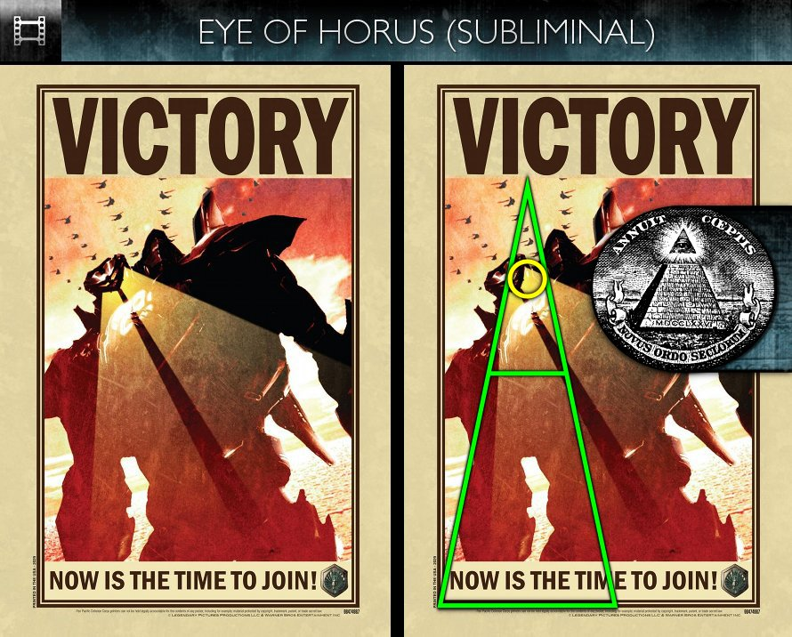 Pacific Rim (2013) - Poster - Eye of Horus - Subliminal