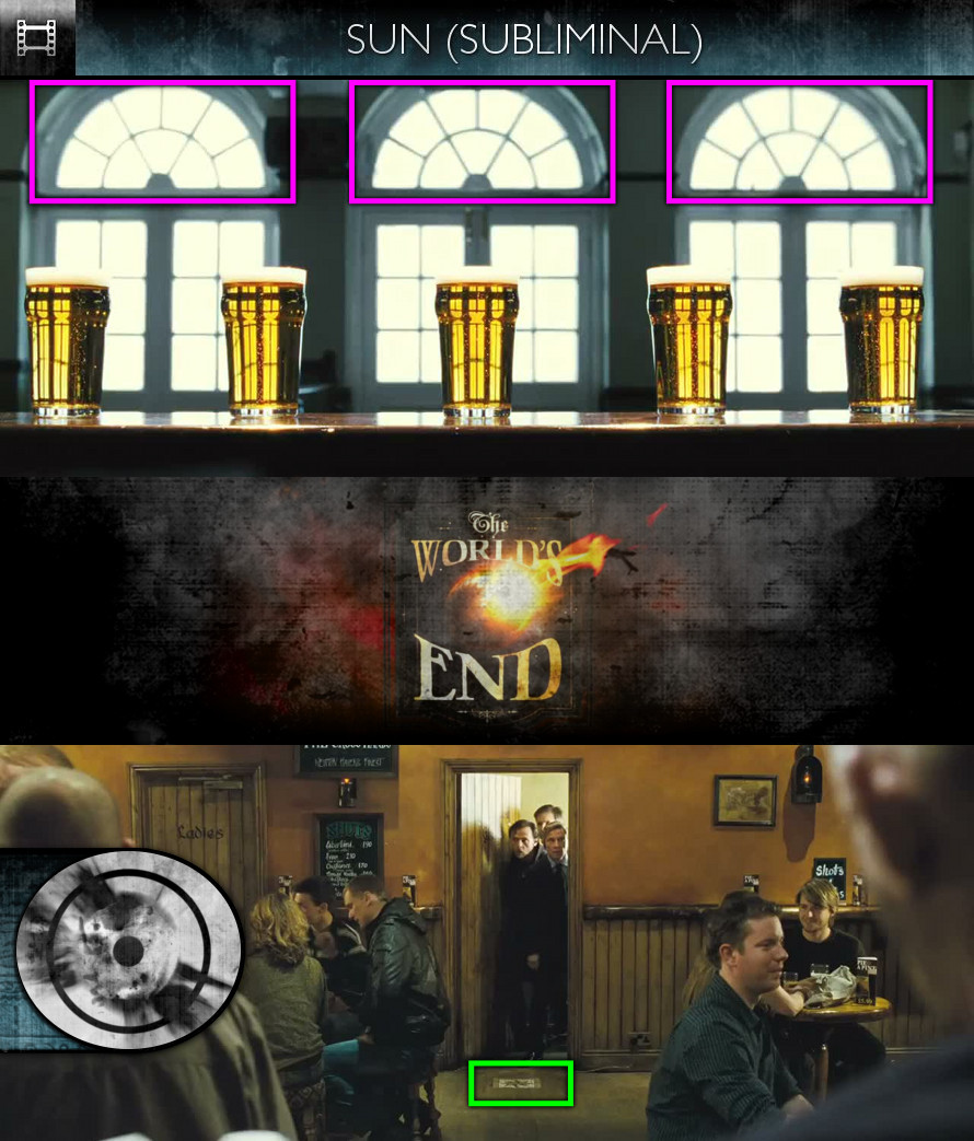 The World's End (2013) - Trailer - Sun/Solar - Subliminal