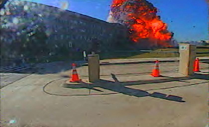 9/11 - The Pentagon - Surveillance Camera